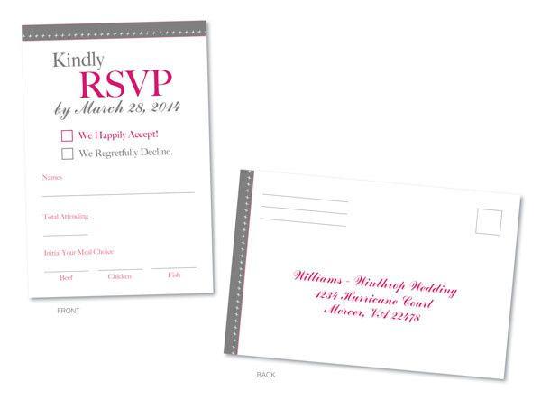 Tmx 1414464261646 Picture2 Rsvp Frontbackf Fb Gaithersburg wedding invitation