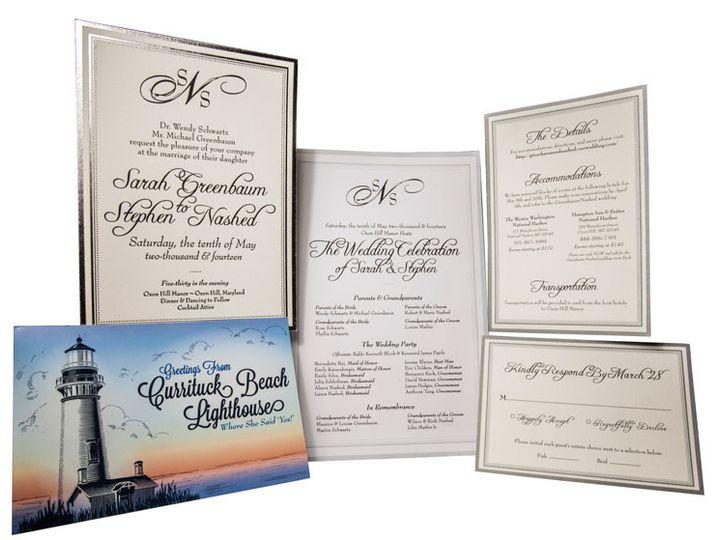 Tmx 1414464638407 Sarah Nash Fullsuite Gaithersburg wedding invitation