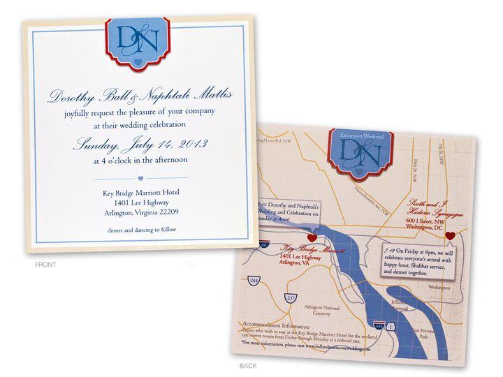 Tmx 1414499520344 Matlis Invitefb Gaithersburg wedding invitation
