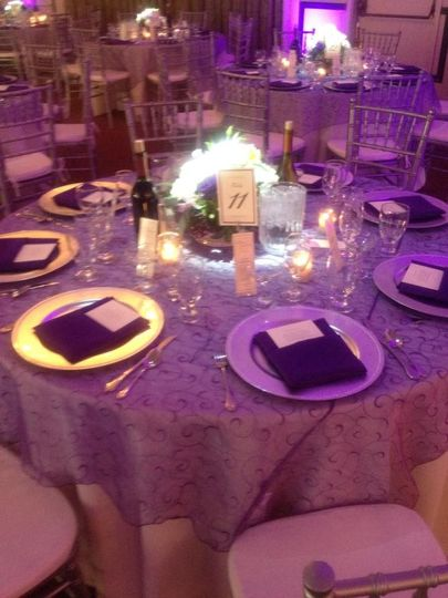 bard purple wedding 4
