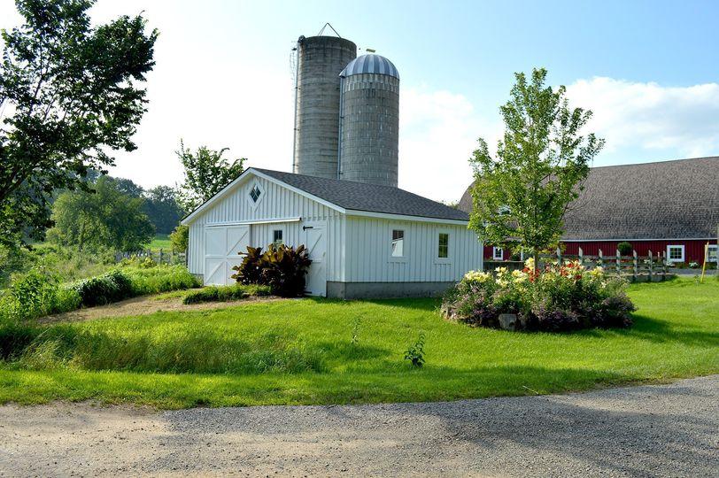 Beautiful farm buildings