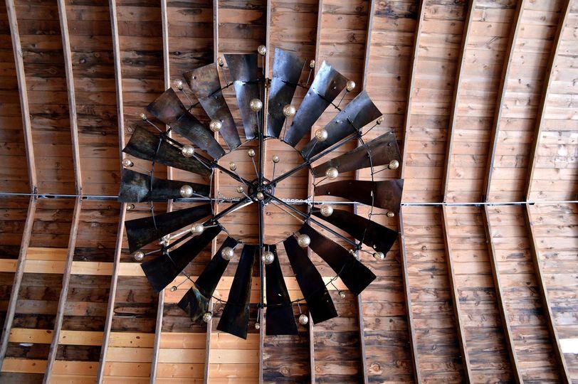 Windmill chandelier