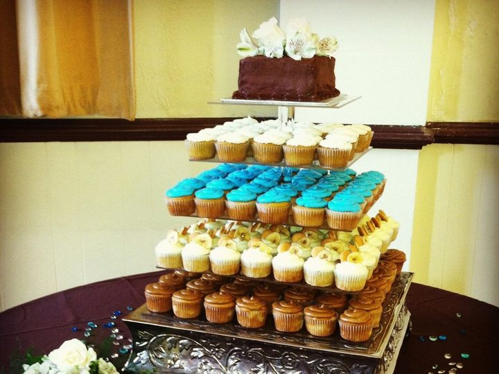 Tmx 1345669636775 AlstonColey Durham wedding cake