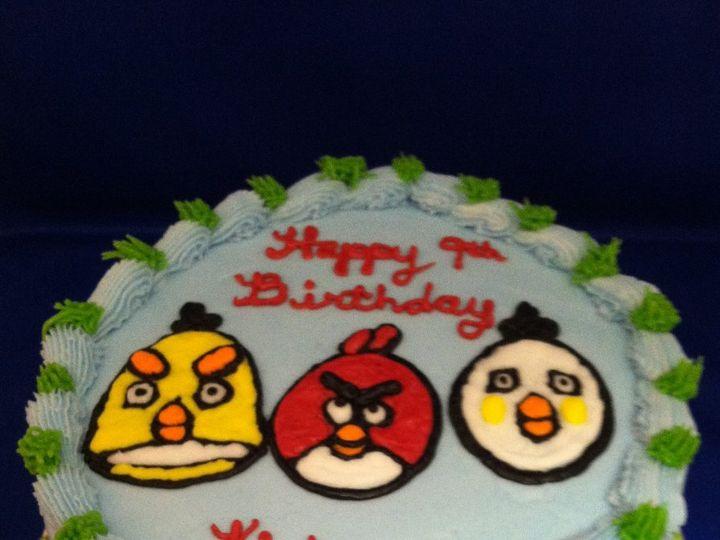 Tmx 1345670639658 Angrybirds Durham wedding cake
