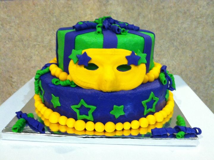 Tmx 1345670658674 Mardigras Durham wedding cake