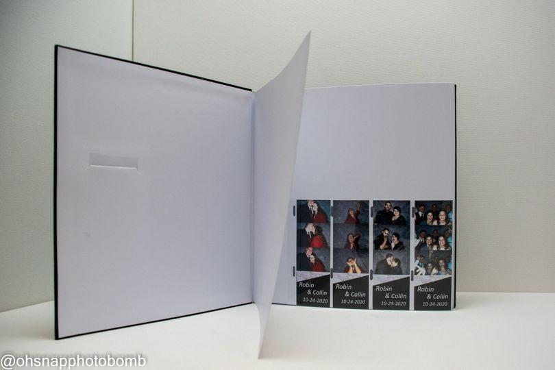 Inside the Deluxe photo album