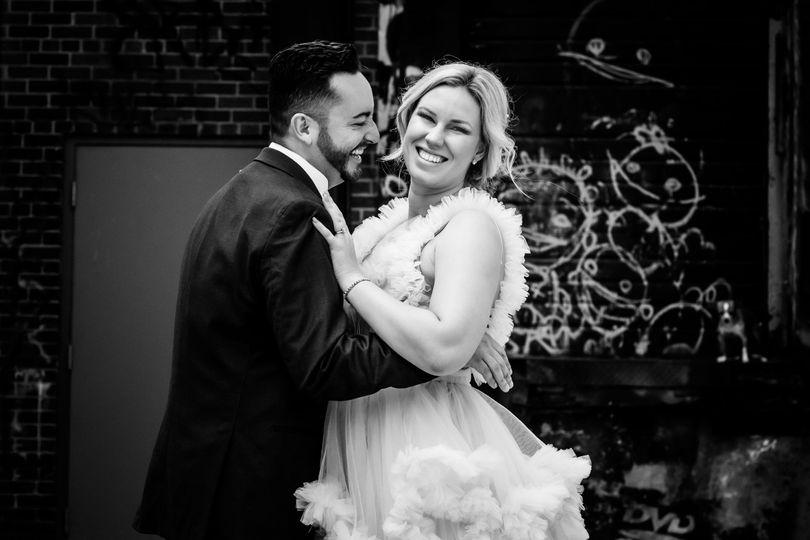 Bride in detroit location