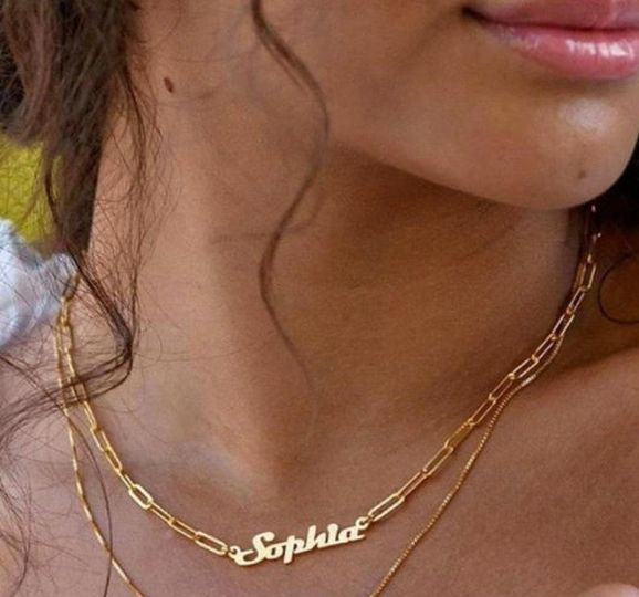 Sterling Name Necklace