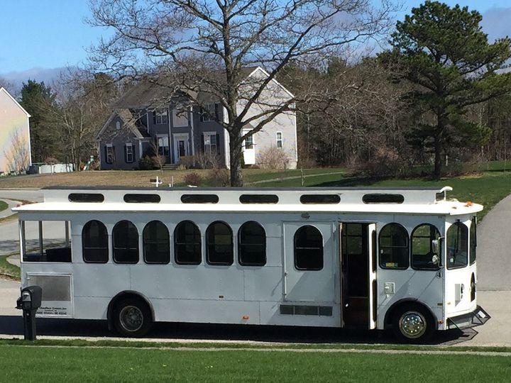 Tmx 1482012710116 Trolley1 Randolph, Massachusetts wedding transportation