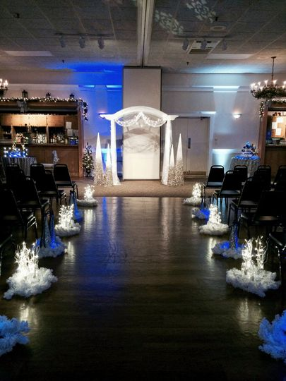 Ceremony setup in Main Banquet Hall
