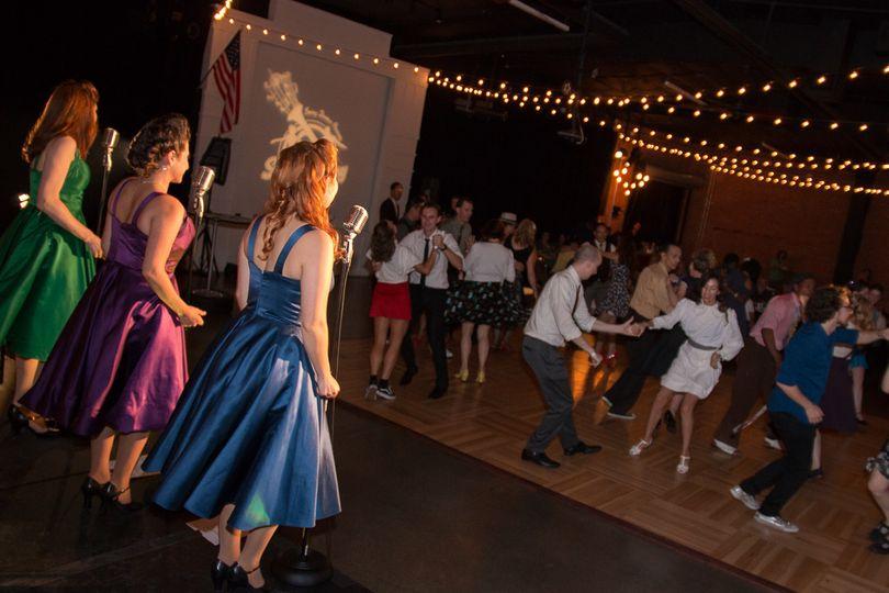 Swing dance party