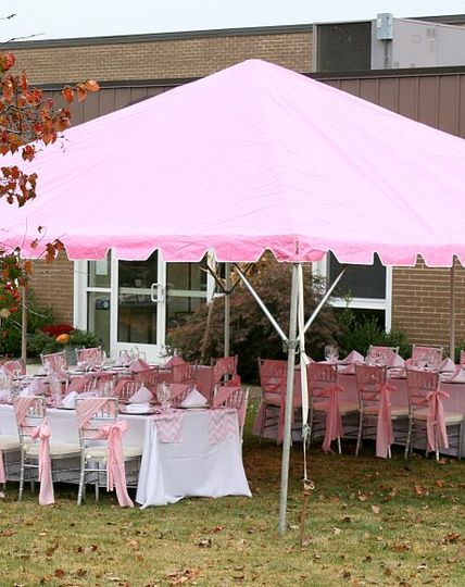 Variety of color tent
