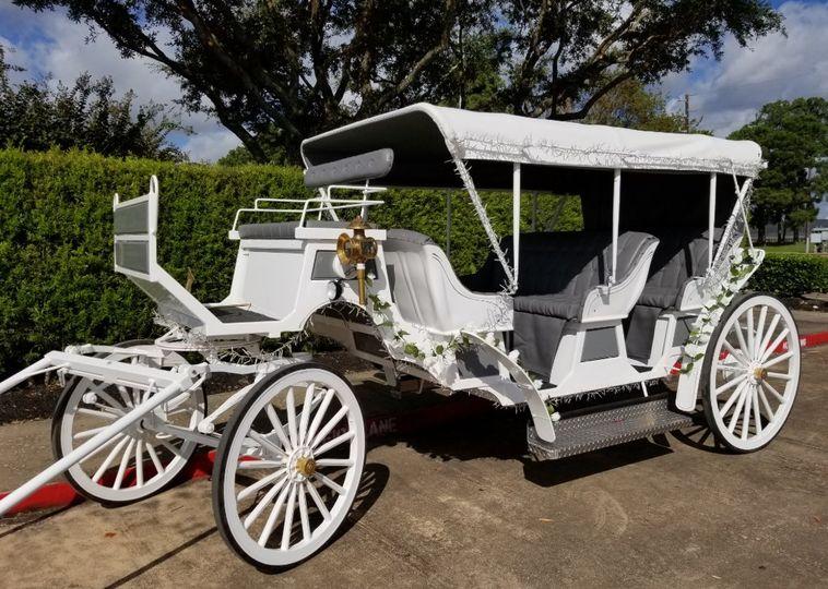 Snow-white carriage