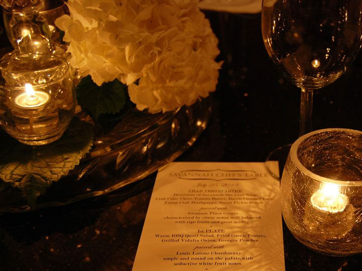 Tmx 1375113332913 Savannah Tablescape Saint Petersburg, FL wedding catering