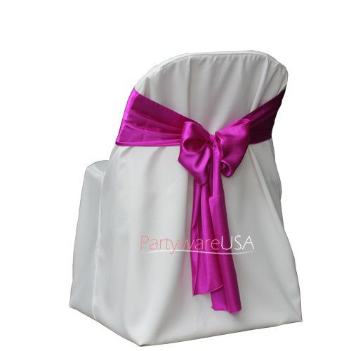 800x800 poly folding chair covers