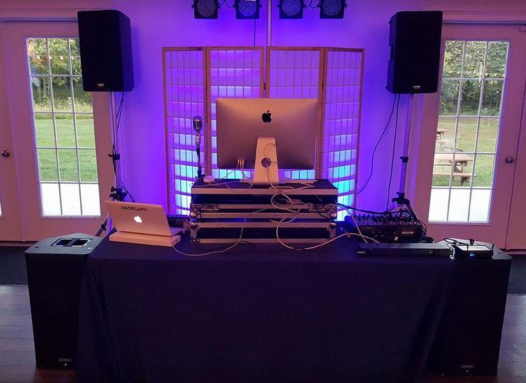 Monocacy Music Factory equipment setup
