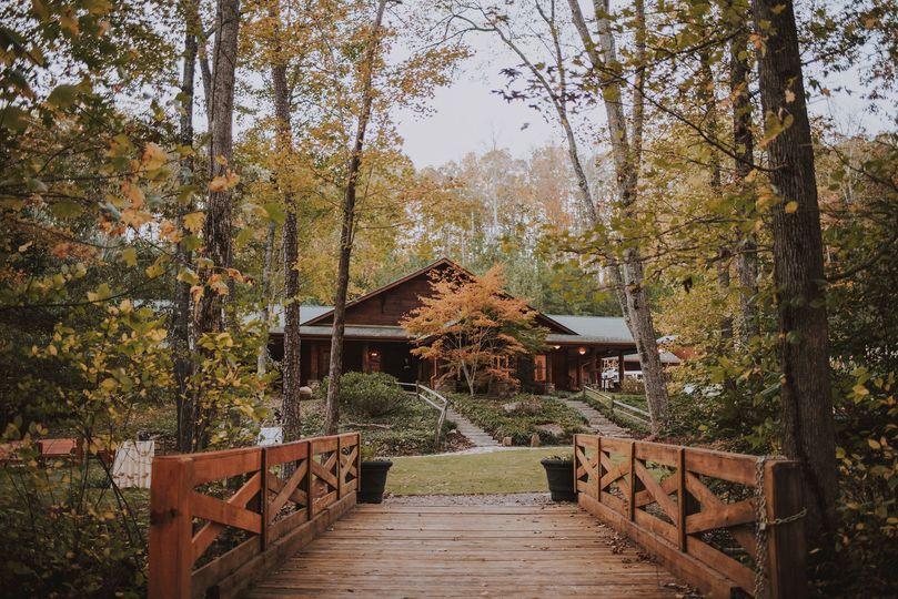 Beautiful log lodge