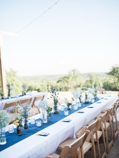 Tatum Acres overlooks the North Georgia mountain, the perfect view for dinner and dancing under the...