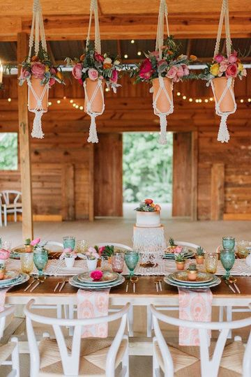 Our Perfect Palette Wedding