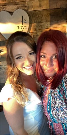 The Beautiful bride Shelby & I