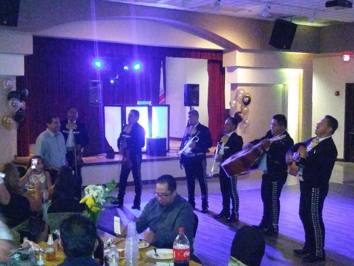 Mariachi for the special table