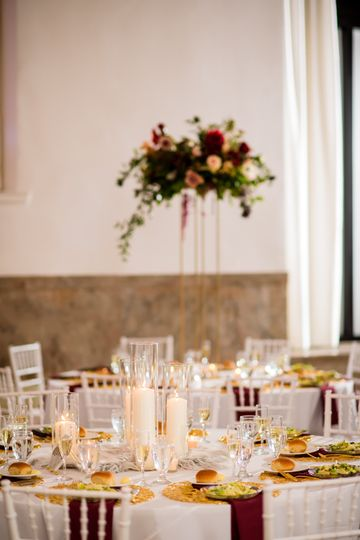 High-low centerpieces