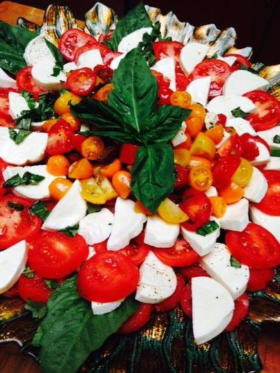 Tomato basil mozarella