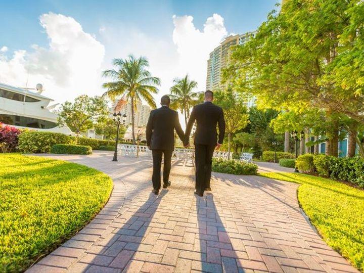 Tmx 1427731707689 River Patio Couple Fort Lauderdale, Florida wedding venue