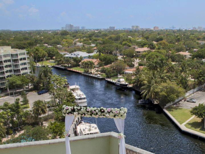 Tmx 1524164744 Bddd34b2f97a369b JEFF  BRIDE TERRACE WITH RIVER 43KolodnyPhoto Fort Lauderdale, Florida wedding venue
