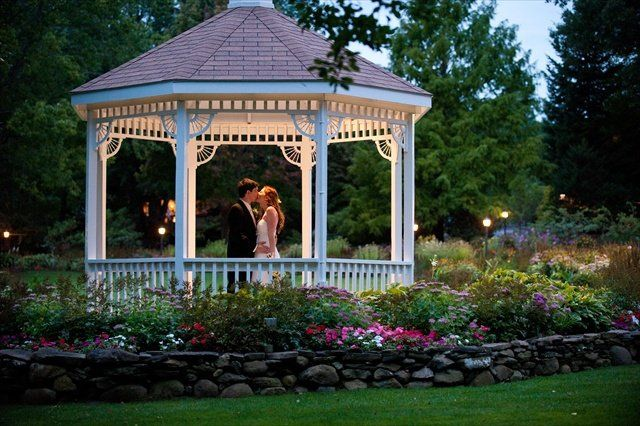 Early Evening Kiss Independence Harbor Gazebo