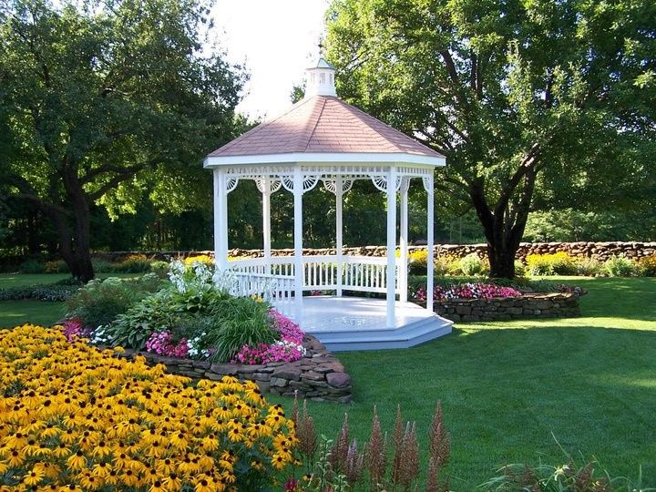 Summer by the gazebo
