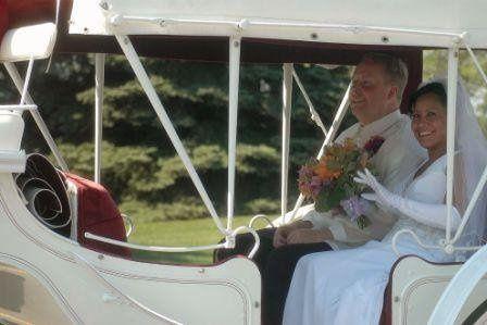 Frankenmuth Wedding Carriage