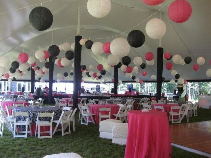 Tmx 1361903981393 PinkBlackWhite20Lanterns1 Portsmouth, RI wedding rental