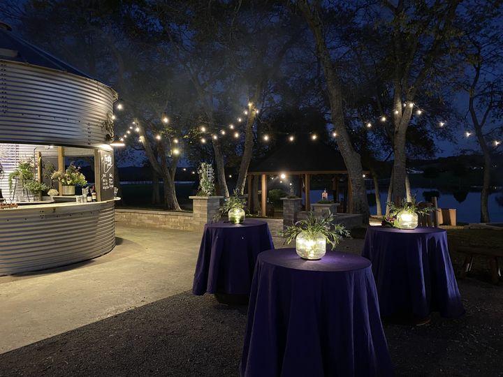 An outdoor venue