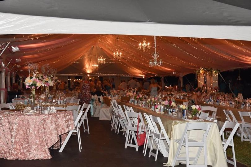 Skyline Tent Event Rental Event Rentals Toledo Oh Weddingwire