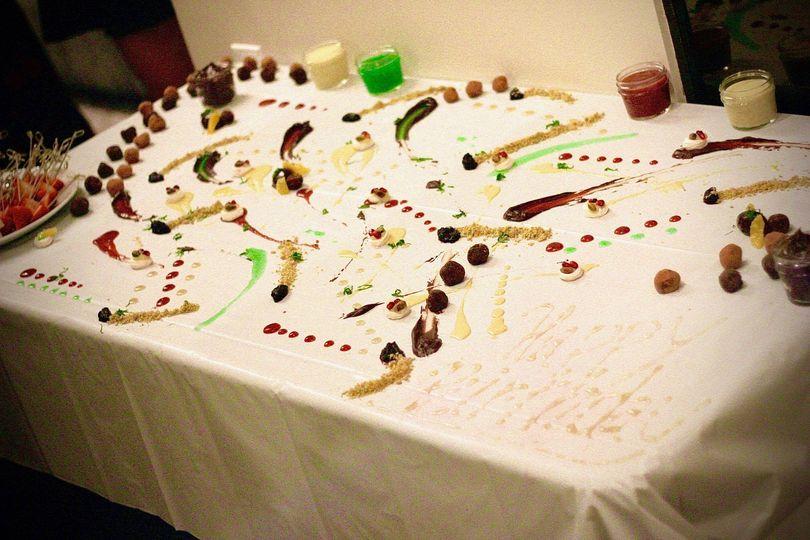 """Fondue"" Dessert Masterpiece"
