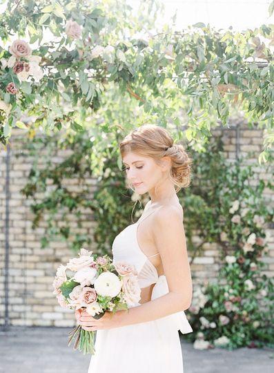 Photoshoot of the bride