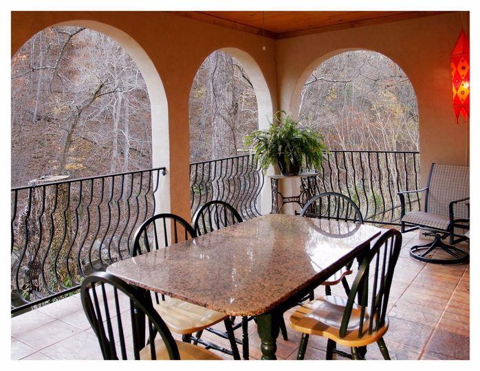 Level 1 veranda