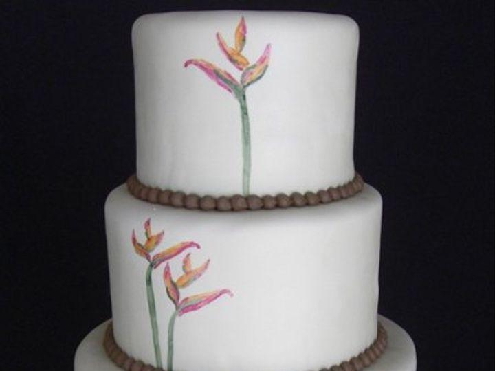 Tmx 1334620614185 BirdofParadise2 Chino Hills wedding cake