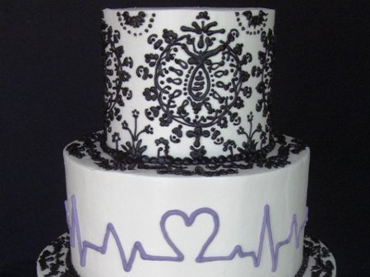 Tmx 1334620630083 Loveline4 Chino Hills wedding cake