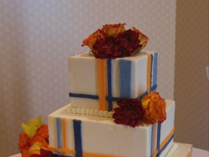 Tmx 1334620631047 Plaid9 Chino Hills wedding cake