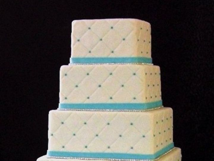 Tmx 1334620635573 QuiltedWedding4 Chino Hills wedding cake
