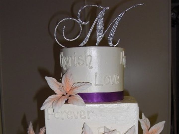 Tmx 1334620642364 WeddingVowsandLillies2 Chino Hills wedding cake