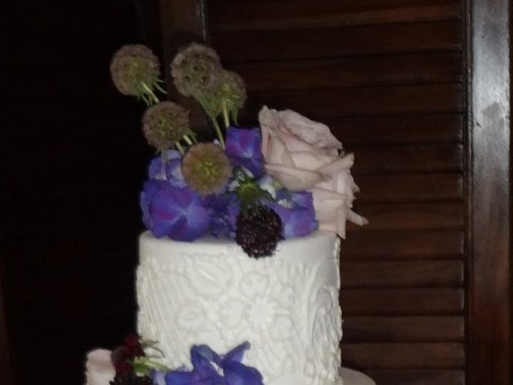 Tmx 1361638957924 LaceCake16 Chino Hills wedding cake