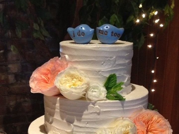Tmx 1371662469450 Textured Buttercream And Birds 4 Chino Hills wedding cake