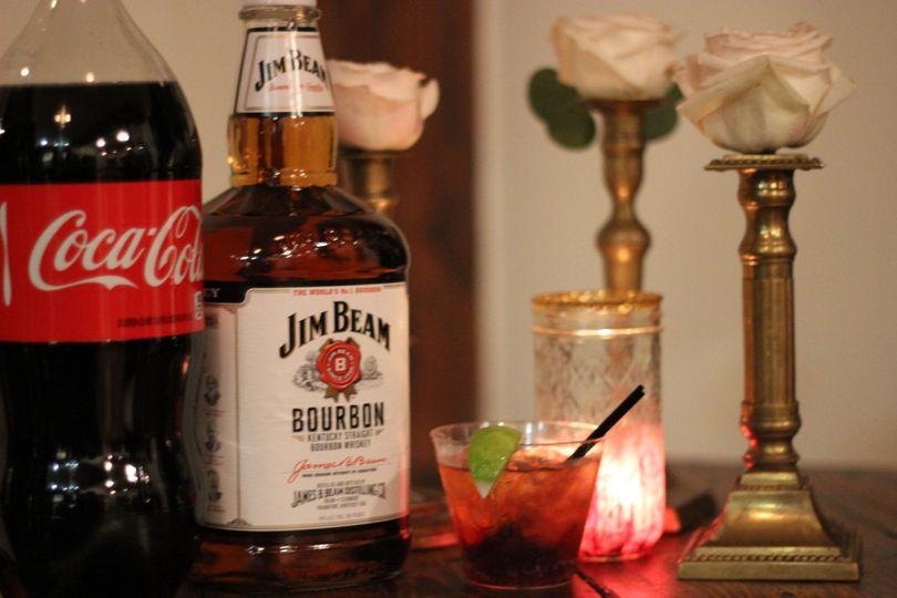Jim Beam and Coke