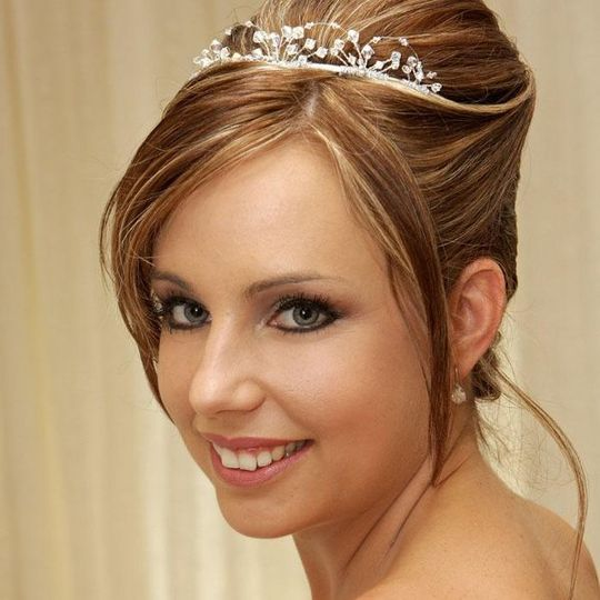 Bridal Up-do at Aquamedica Salon and Day Spa NJ