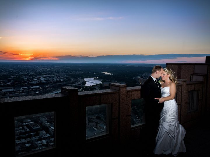 Tmx 1490388792814 Top Of Tower Wedding Skyline View Philadelphia Pen Voorhees, NJ wedding photography