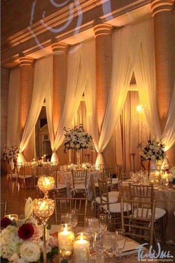 Hall of Springs drape