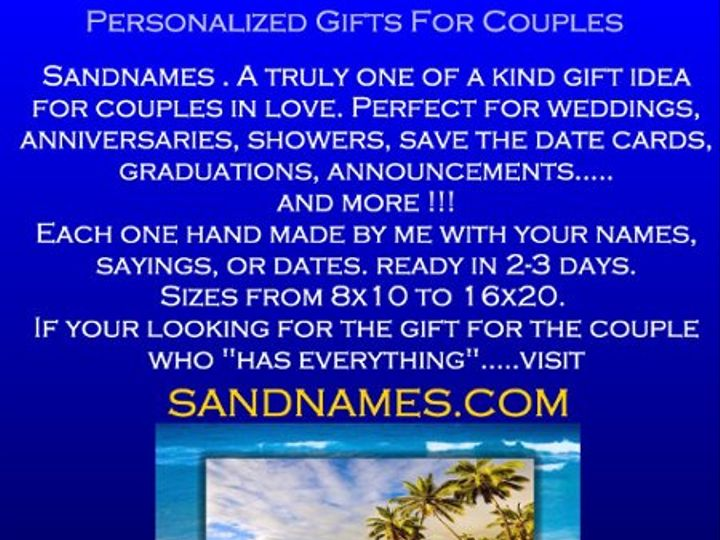 Tmx 1255357296682 INFOAD3 Santa Barbara wedding favor